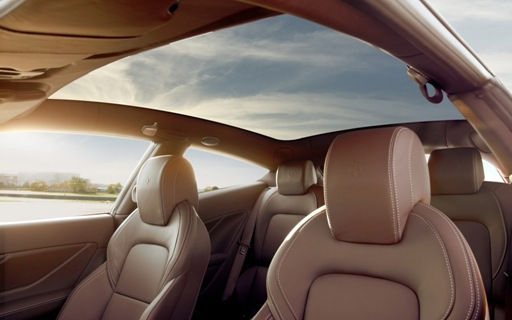 2013 Ferrari FF interior seats and roof