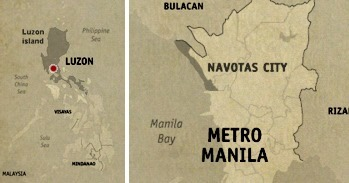 Navotas Location Map