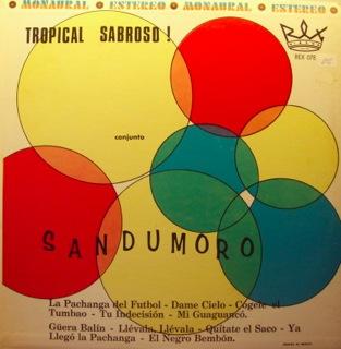 Conjunto Sandumoro  Tropical Sabroso  Front