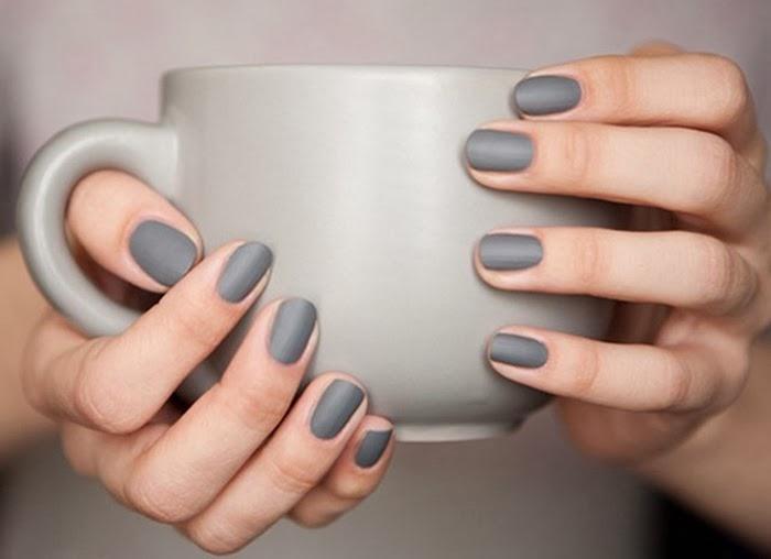 gray, gray mat nail polish, gray nail polish, smalto grigio, smalto grigio opaco, smalti 2014, colori smalti inverno 2014, colori must smalti, colori smalti fashion, beauty routine, manicure, manicure smalti, nailpolish manicure