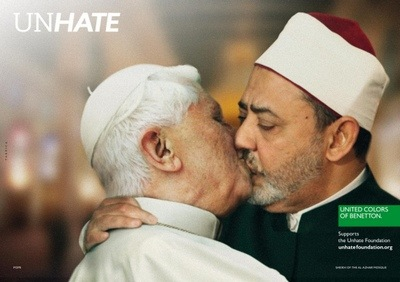 baiser_pape_imam_publicite_benetton