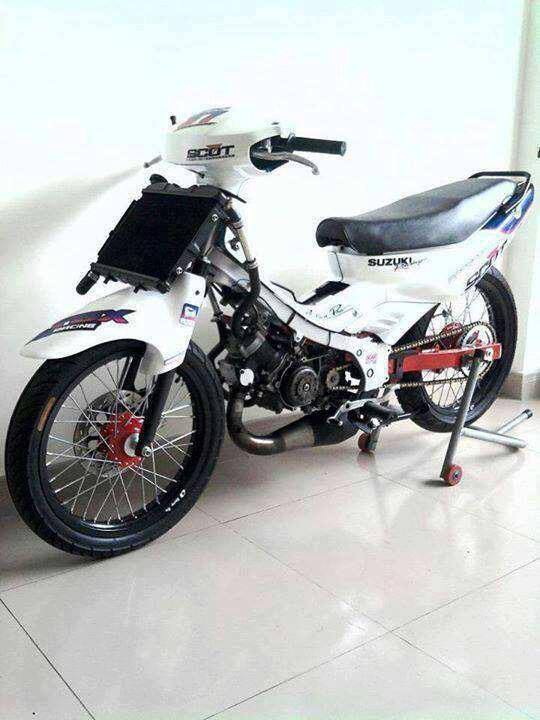 GALLERY MOTOR SPORT MODIFIKASI  SUZUKI SATRIA 120 R SPORT