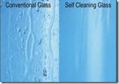 self cleaning glass