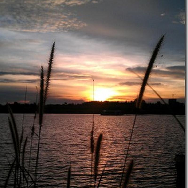 Ibarat kena sawan bila melihat matahari terbenam !