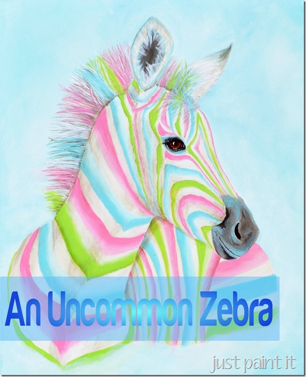 Creative crafting: How to paint an Uncommon zebra