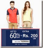 American Swan Diwali Sale On T-Shirts : Buy Tees Starts at Rs. 150 + Free Shipping