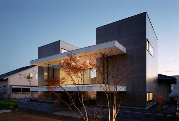 fachadas de casa moderna
