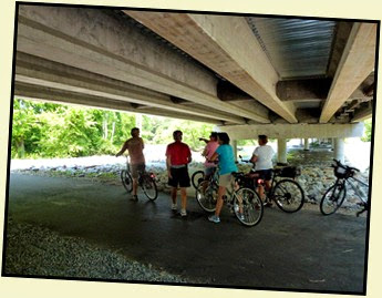 01d - Upper Neuse River Greenway - under the Bridge