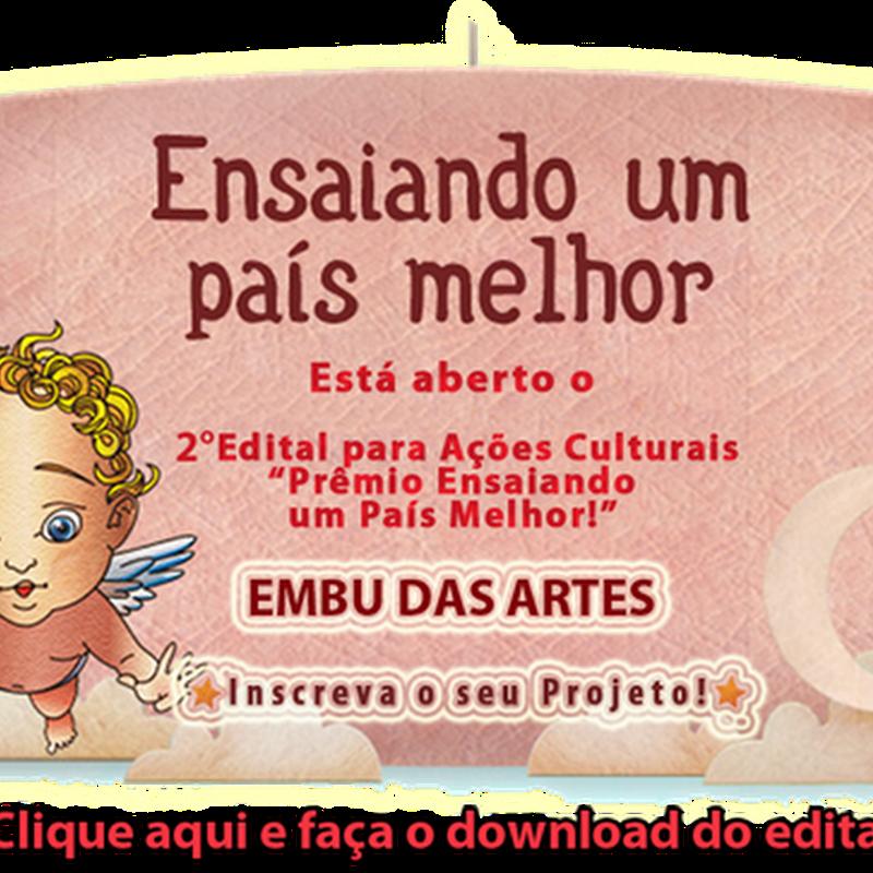 """""""Ensaiando um País Melhor!"""" fará premiação para Projeto Cultural"""