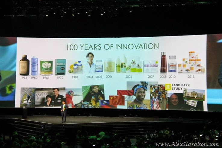 2014_Shaklee_Global_conference_Long_Beach_100_years_innovation