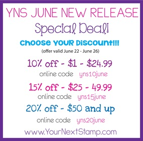 YNS June 2013 Release Specials