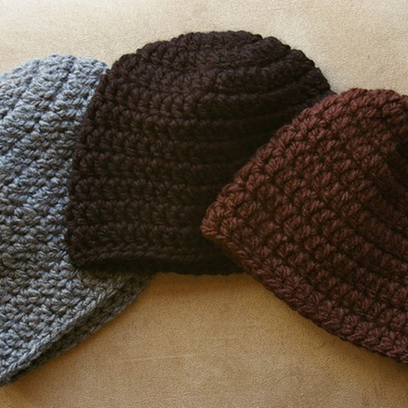 Easy Peasy Crochet Hat Patterns : Crocheting the Day Away: Easy Peasy Woman s Winter Hat ...