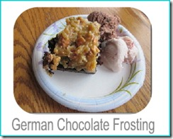 german chocolate frosting