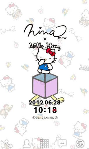 無料个人化AppのNinamew×HELLO KITTY ライブ壁紙|記事Game