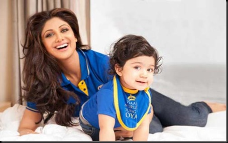 Shilpa-Shetty-son-Viaan-photo-shoot-for-Hello-magazine