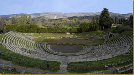 Fiesole - il Teatro Romano in Estate
