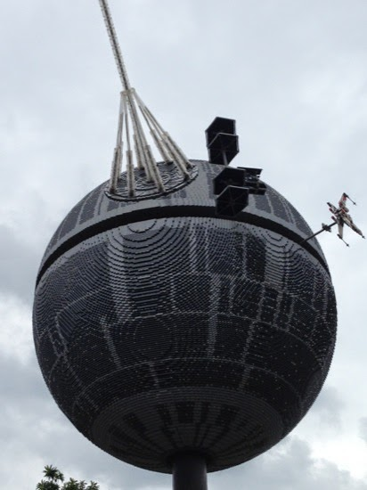 Just what everyone needs - a giant Lego Death Star