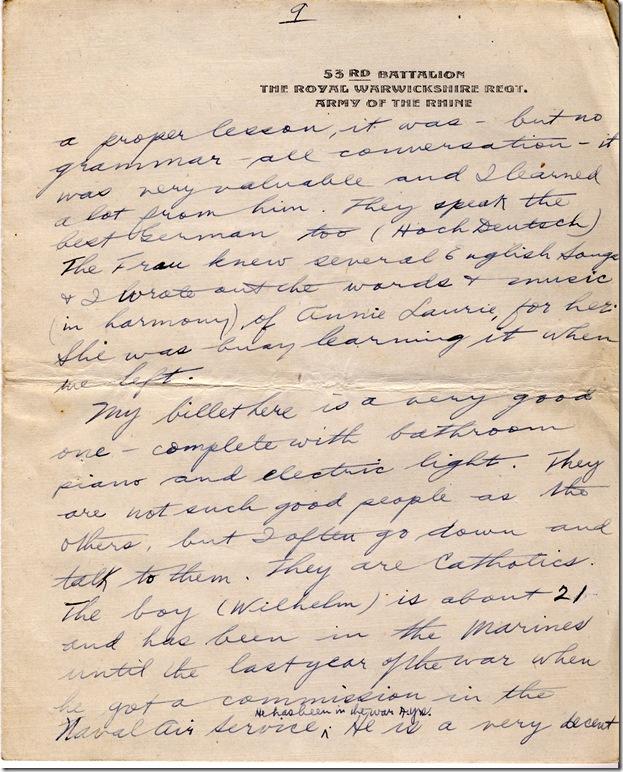 1 June 1919 9