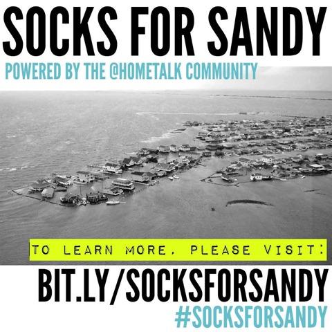 #socksforsandy