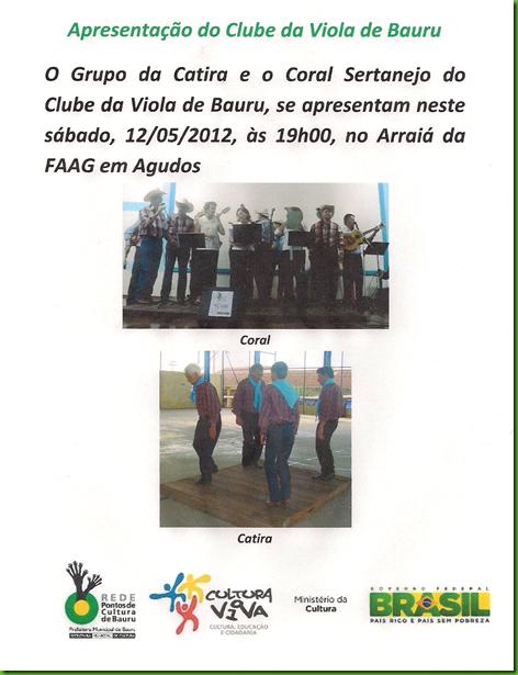 Apresentação na FAAG em 12-05-2012