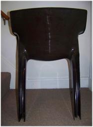 Gaudi armchair, brown