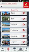 Screenshot of Make My Switzerland