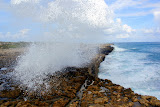 Powerful Ocean Waves At Devil's Bridge (Shot 13 of 14) - St. George's, Antigua
