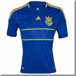 Ucrania segunda equipación