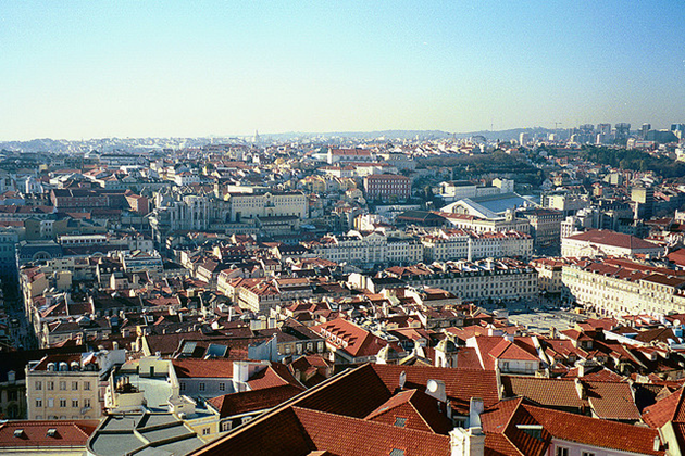 A view of Lisbon