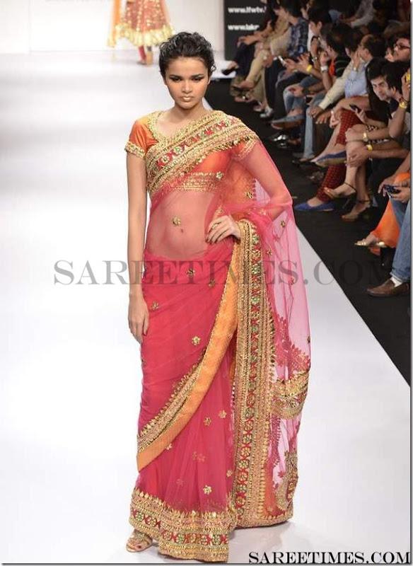 Preeti_S_Kumar_Pink_Saree