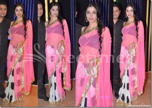 Pink_White_Half_and_Half_Saree