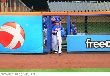 'Aaron Harang Leaving The Bullpen For His First Mets Start' photo (c) 2013, slgckgc - license: https://creativecommons.org/licenses/by/2.0/