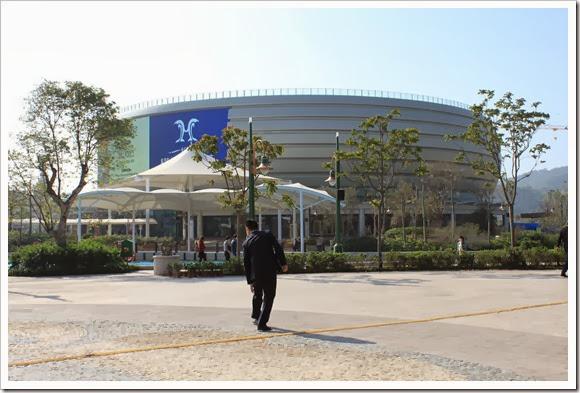 珠海橫琴長隆海洋王國_公車站至園區步行路線_05