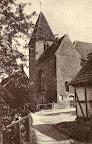 """Klosterkirche (Rückansicht); aus J. Segelken """"Heimatbuch"""", 1938"""