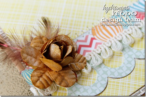 Card_Heather Landry_Hydrangea Hippo_Feathers_Trim_Scallop_Hello_Stitching
