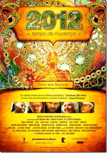 Cartaz Filme 2012 Tempo de Mudança