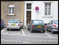 Thionville - Rue de Strasbourg - Stat Handicapés cr~ 14.10.10