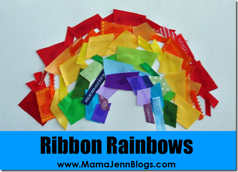 What Makes a Rainbow? Ribbon Craft