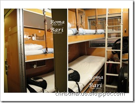 【Italy♦義大利】Rome 羅馬 to Bari 巴里 - 義大利夜車臥鋪初體驗; 加映國鐵臥鋪訂票&線上購票教學