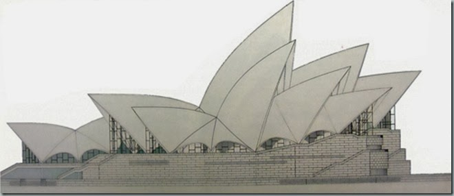 Syndey Opera House Dibujo