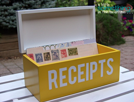 Receipt Box 1 WM