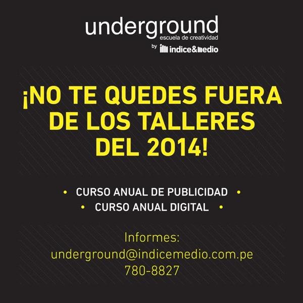 Creatividad publicitaria underground