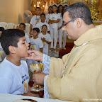 Missa da Primeira Eucaristia - Paróquia Nossa Senhora de Nazaré - Fotos: Daniel Fotógrafo