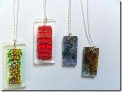 Acrylic Pendants (5)