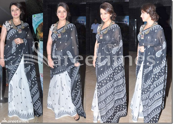 Tisca_Chopra_Half_and_Half_Saree