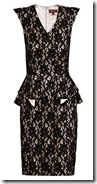 Project D Lace and Peplum Dress