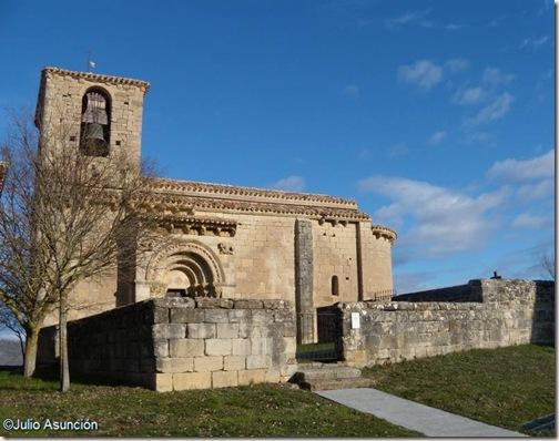 Iglesia de San Martín de Artáiz - románico en Navarra