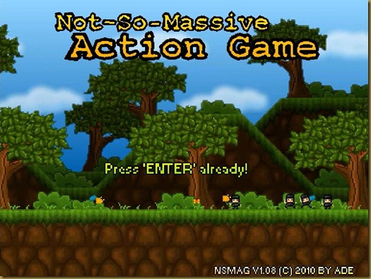 Not-So-Massive Action Game タイトル