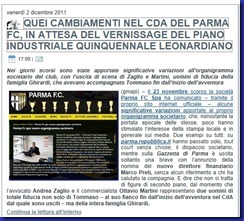 cambiamenti cda