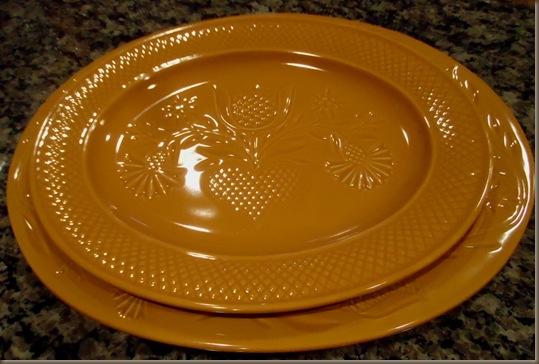 set of platters